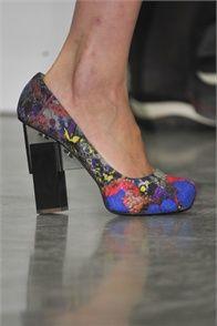 #shoes Erdem AW 2012 RTW #LFW