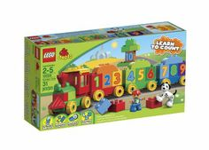 Amazon.com: LEGO DUPLO Number Train 10558: Toys & Games