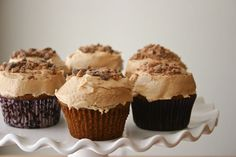 Bakergirl: Pumpkin Spice Cupcakes with Cookie Butter Buttercream.