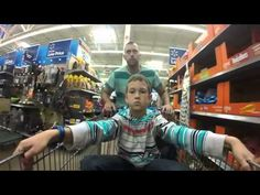 Behold a classic tale of father-son bonding: Epic Grocery Run. Video by Justin Stauffer.