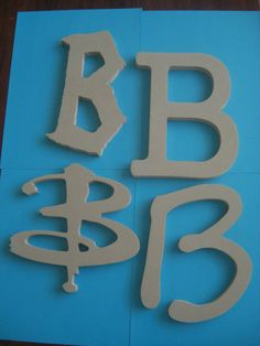 Wood letters- any font/size you want for cheaper than any craft store. Perfect to mod podge!
