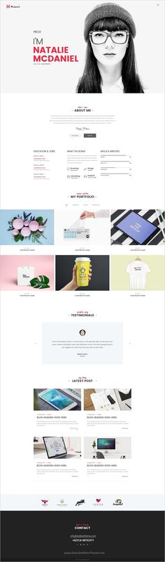 I like the minimal design. Simple typography is what I look for a personal website. I also like the portfolio part that displays the designer& work Portfolio Website Design, Portfolio Web Design, Portfolio Layout, Portfolio Ideas, Online Portfolio, Website Design Inspiration, Cv Inspiration, Webdesign Portfolio, Webdesign Layouts
