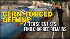 CERN FORCED OFFLINE AFTER SCIENTISTS FIND CHARRED REMAINS