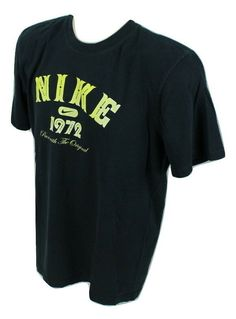9ce0dff35 Nike Mens Medium Run With The Original Graphic Tee Navy Blue #Nike  #GraphicTee Blue