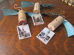 Wine Cork Ornaments - Paris 2