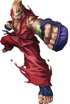 Street Fighter VS Tekken - Paul