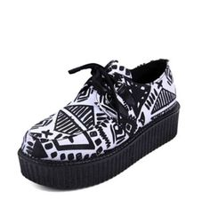 Grab yourself some of these awesome Tribal Platform Sneakers link listed at my blog www.rosiesayshello.com