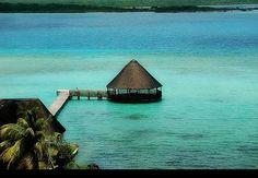 Laguna de Bacalar, Quintana Roo.