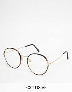 I'll be getting my geek-chic on with theses Reclaimed Vintage Clear Lens Glasses!