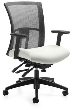 Global Vion Medium Back Tilter Track Office Furniture