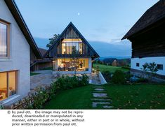 Haus P / Gangoly & Kristiner Architekten ZT GmbH - Paul Ott Pfotografiert Style At Home, Design Case, Home Fashion, Cabana, House Design, House Styles, Interior, Home Decor, Austria