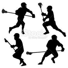 lacrosse silhouette clip art - Google Search