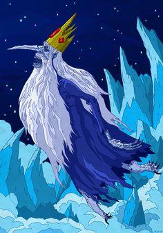 Ice King Fan art Illustration by Me Masterpiece Theater, Ice King, Illustration Art, Illustrations, Adventure Time Art, Theatre, Fanart, Lord, Comics