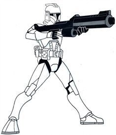Phase I Clone Trooper by on DeviantArt Mafia, Star Wars Drawings, Star Wars Jokes, Star Wars Images, Star Wars Baby, Space Wolves, Star Wars Ships, Star Wars Clone Wars, Clone Trooper
