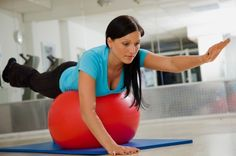 Übungen mit dem Pezziball - Übung 1