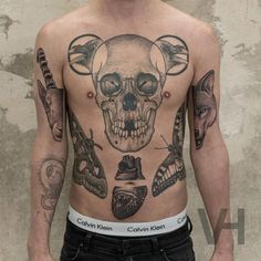 Front Tattoos by V. Hirsch
