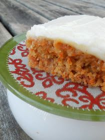 Ally's Sweet and Savory Eats: Made-From-Scratch Carrot Cake