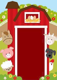 Farm Animal Party, Farm Animal Birthday, Barnyard Party, Farm Birthday, 2nd Birthday Parties, Farm Day, Barn Animals, Barn Parties, Farm Theme