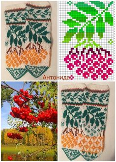 Fair Isle Knitting Patterns, Knitting Paterns, Loom Knitting, Knitting Socks, Baby Mittens, Mittens Pattern, Handmade Bags, Diy And Crafts, Knit Crochet