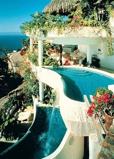Ocho Cascadas Puerto Vallarta, Jalisco, Mexico-Love an infinity pool suite!