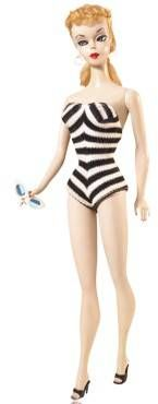 """Barbie Doll  #1 was invented in 1959. She originally sold for $3. Today if she is in """"mint"""" condition, she can fetch as much as $27,000."""