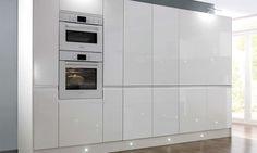 Handleless White Gloss Kitchen image 5