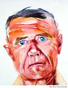 Portrait of Christopher Isherwood, by Don Bachardy
