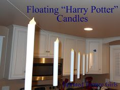 "Talented Terrace Girls: Wildcard Wednesday: Floating ""Harry Potter"" Candles"