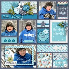 Layout using {Winter Magic} Digital Scrapbook Kit by Digital Scrapbook Ingredients available at Sweet Shoppe Designs http://www.sweetshoppedesigns.com//sweetshoppe/product.php?productid=32990&cat=797&page=3 #digitalscrapbookingredients