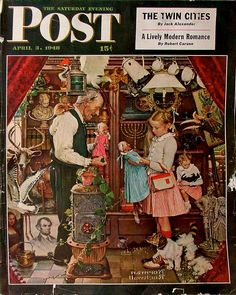Norman Rockwell - April 3, 1948 April Fool