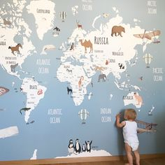 Little Hands Wallpaper made by measure Baby room