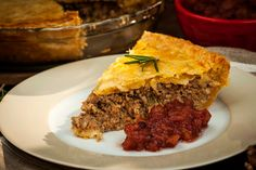 French Canadian Tourtiere - Creative Cynchronicity Roasted Beets, Roasted Carrots, Carne, Cranberry Chutney, Pickled Beets, Pork Meat, Fennel Salad, Glazed Carrots, Hot Cocoa Mixes