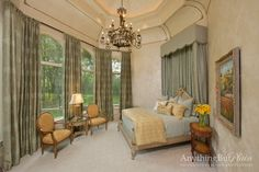 Country Mansion on the Brazos - mediterranean - bedroom - houston - by Anything But Plain, Inc.
