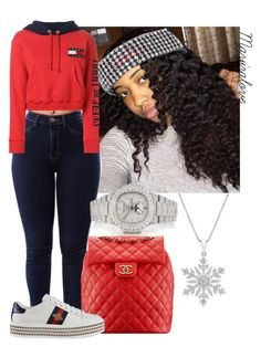 """Untitled #451"" by mayiralove ❤ liked on Polyvore featuring Patek Philippe, Chanel, Gucci and Tommy Hilfiger"
