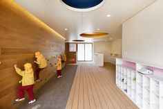Creche e Jardim de Infância C.O / HIBINOSEKKEI + Youji no Shiro