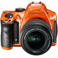 K-30 Crystal Orange 18-55 WR Lens Kit