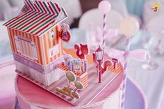 Chelsea's Sweet Shoppe Themed Party – Table Setup Something Sweet, Party Themes, Cravings, Chelsea, Ice Cream, Candy, Birthday, Table, Desserts