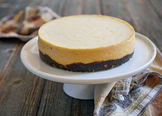 2-ingredient Cheesecake   My Heart Beets Pumpkin Cheesecake, Cheesecake Recipes, Dessert Recipes, Lemon Cheesecake, Sin Gluten, Gluten Free, Instant Pot, Living At Home, Savoury Cake