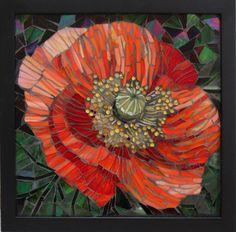 Mosaic poppy