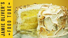 I need a blow torch! cake. Triple-Layer Lemon Meringue Cake with Marshmallow Icing   Cupcake Jemma