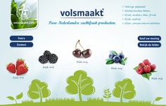 Volsmaakt. Pure Nederlandse zachtfruit producten. www.volsmaakt.com