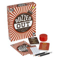 Ginger Fox Buzzed Out Quick Fire Family Card Game