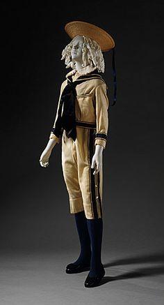 Boy's suit, ca 1876 England, LACMA