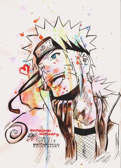 freaking cool art !| We Heart It #uzumaki #naruto