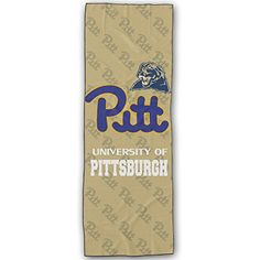 Pitt Panthers Logo Yoga Mat Towel >>> More info could be found at the image url.(This is an Amazon affiliate link and I receive a commission for the sales)