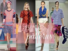 5 fashions rules that should be broken: Mixing prints