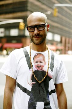 Gotta Love this---On The Street……..That Tee, Those Glasses, Manhattan « The Sartorialist