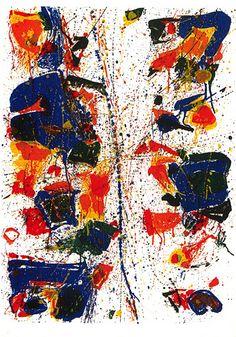 Sam Francis  The White Line (SF-6) (L-6) by Jonathan Novak Contemporary Art, via Flickr
