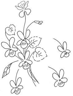 Awesome Most Popular Embroidery Patterns Ideas. Most Popular Embroidery Patterns Ideas. Floral Embroidery Patterns, Vintage Embroidery, Embroidery Applique, Cross Stitch Embroidery, Embroidery Designs, Flower Embroidery, Embroidery Techniques, Craft Patterns, Fabric Painting