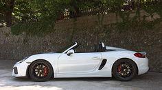 Der neue Porsche Boxter Spyder mit 375 PS.